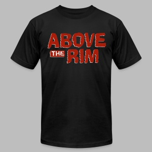 Above the Rim - Men's T-Shirt by American Apparel