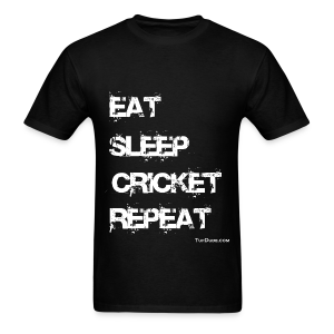 Eat Sleep Cricket Repeat - Men's T-Shirt