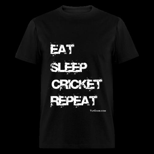Eat Sleep Cricket Repeat - Men's T-Shirt