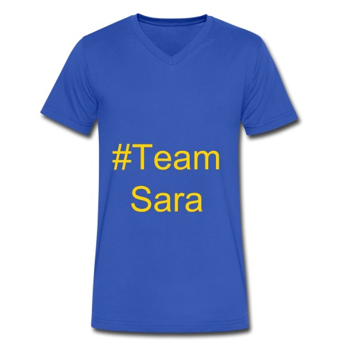 #TeamSara Oklahoma Tee - Men's V-Neck T-Shirt by Canvas
