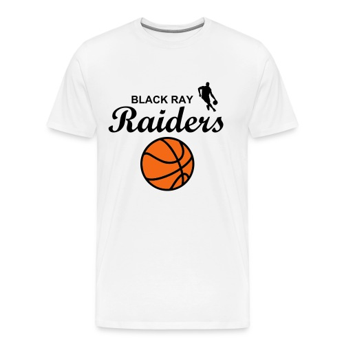BLVCK RAY Raiders Basketball T-Shirt - Men's Premium T-Shirt