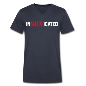 Insoxicated - Men's V-Neck T-Shirt by Canvas