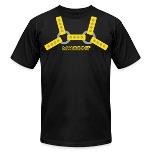 Yellow Harness T - Men's T-Shirt by American Apparel