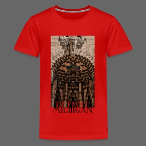 Detroit Guardian - Kids' Premium T-Shirt