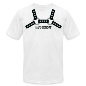 Black Harness T - Men's T-Shirt by American Apparel