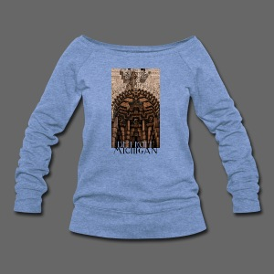 Detroit Guardian - Women's Wideneck Sweatshirt