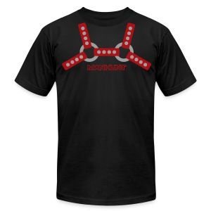Red Harnass T - Men's T-Shirt by American Apparel