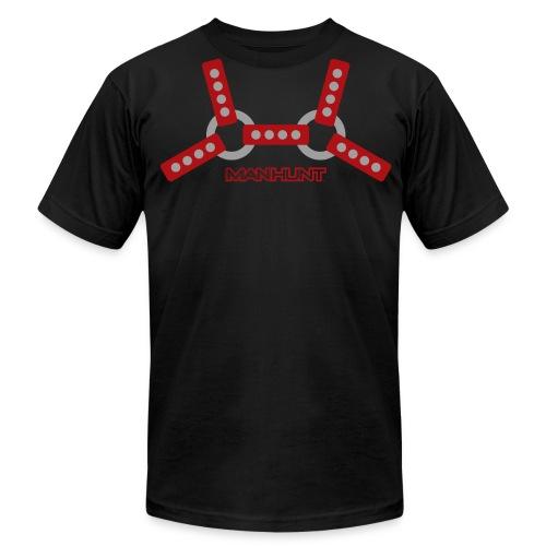 Red Harnass T - Men's Fine Jersey T-Shirt