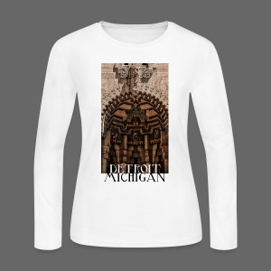 Detroit Guardian - Women's Long Sleeve Jersey T-Shirt