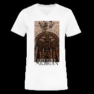 T-Shirts ~ Men's V-Neck T-Shirt by Canvas ~ Detroit Guardian