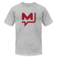 T-Shirts ~ Men's T-Shirt by American Apparel ~ Manhunt Daily T