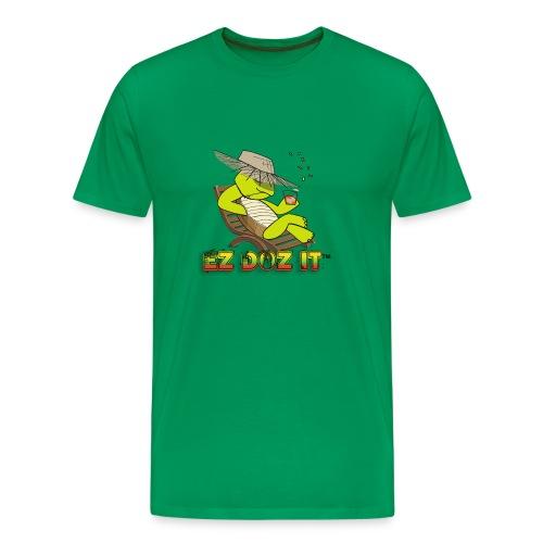 EZ DOZ IT logo T-Shirts - Men's Premium T-Shirt