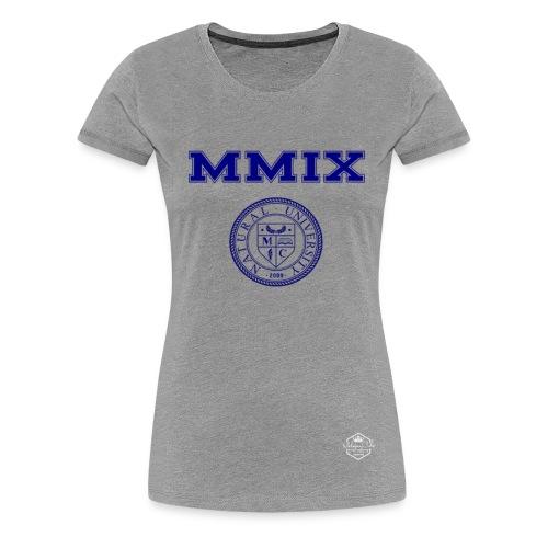 Natural University Collection- Roman Numeral Tee - Women's Premium T-Shirt