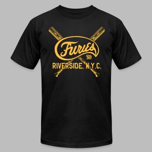 Baseball Furies - Men's T-Shirt by American Apparel
