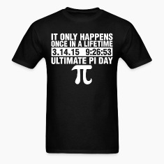 Ultimate Pi Day 2015 T-Shirts