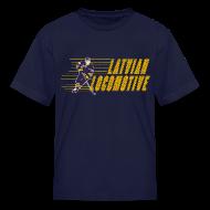 Kids' Shirts ~ Kids' T-Shirt ~ Latvian Locomotive