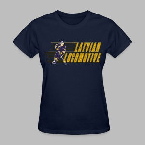 Latvian Locomotive - Women's T-Shirt
