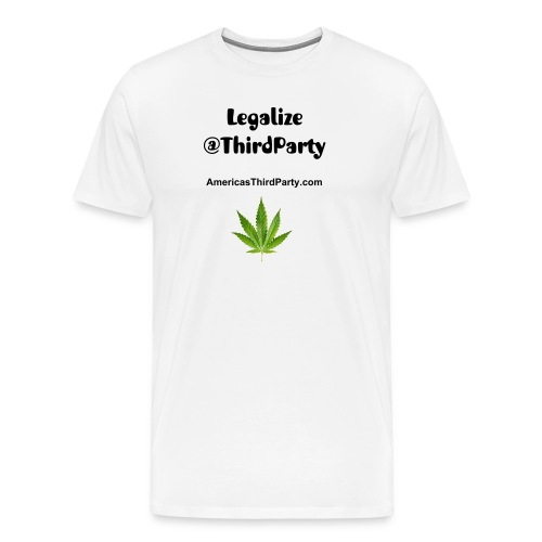 Legalize @ThirdParty - Men's Premium T-Shirt