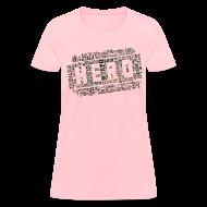 T-Shirts ~ Women's T-Shirt ~ CrossFit Hero WODs Camo Cloud