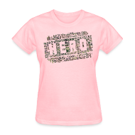Women's T-Shirts ~ Women's T-Shirt ~ CrossFit Hero WODs Camo Cloud