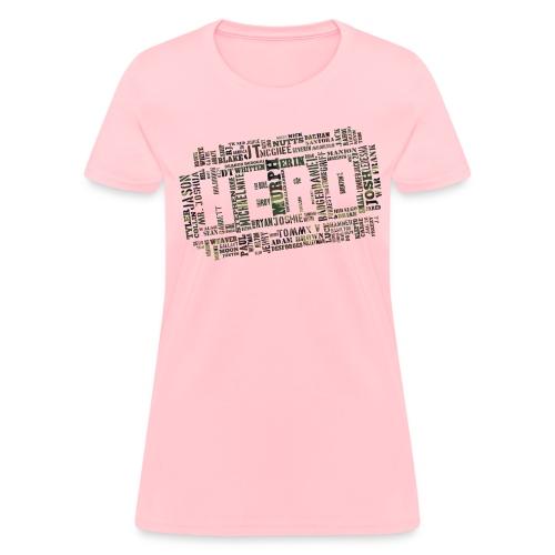 CrossFit Hero WODs Camo Cloud - Women's T-Shirt