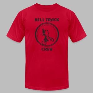 Hell Track Crew - Men's Fine Jersey T-Shirt