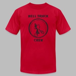 Hell Track Crew - Men's T-Shirt by American Apparel