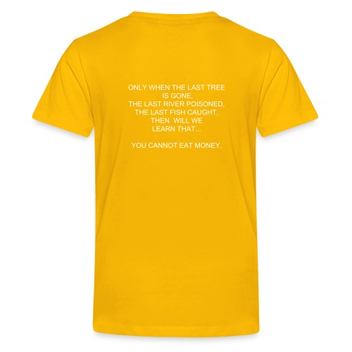 PROPHECY YELLOW - Kids' Premium T-Shirt