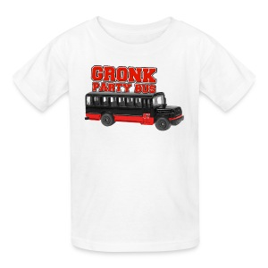 Gronk Party Bus - Kids' T-Shirt