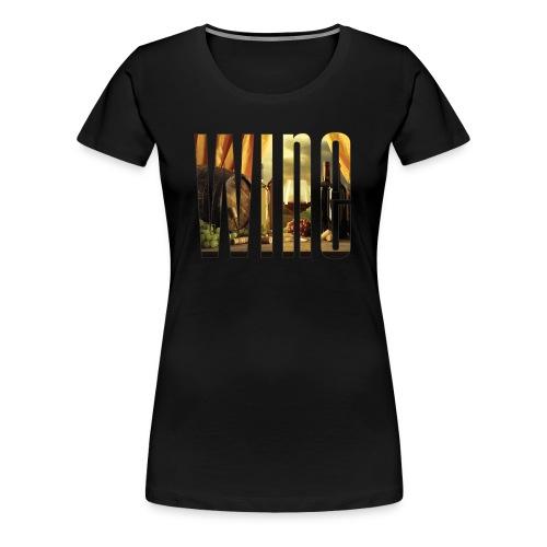 Wine Vineyard - Women's Premium T-Shirt