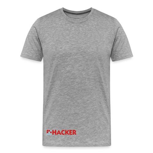 hacker sports clothes shirt  - Men's Premium T-Shirt