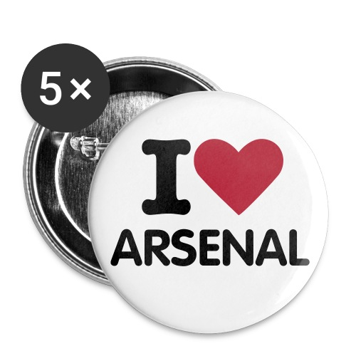 Arsenal Small Button 5 Pack - Small Buttons