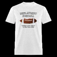 T-Shirts ~ Men's T-Shirt ~ Deflatriot football