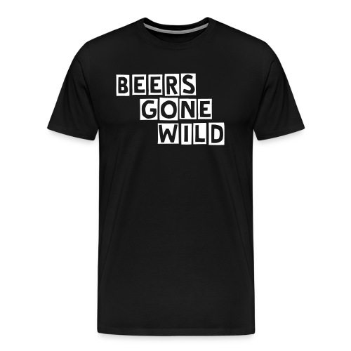 Beers Gone Wild T-Shirt - Men's Premium T-Shirt