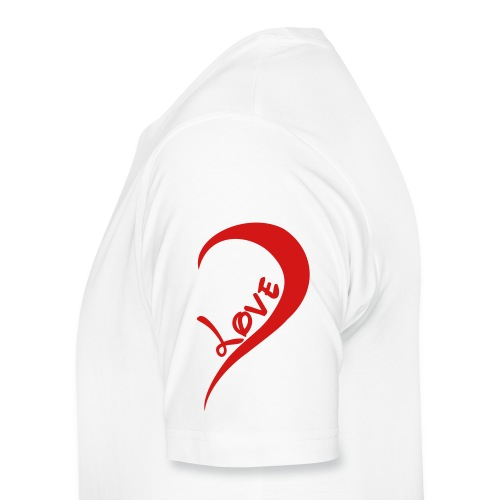 love her - Men's Premium T-Shirt