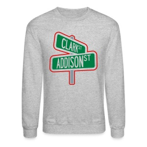 Intersection of Wrigely Field - Crewneck Sweatshirt