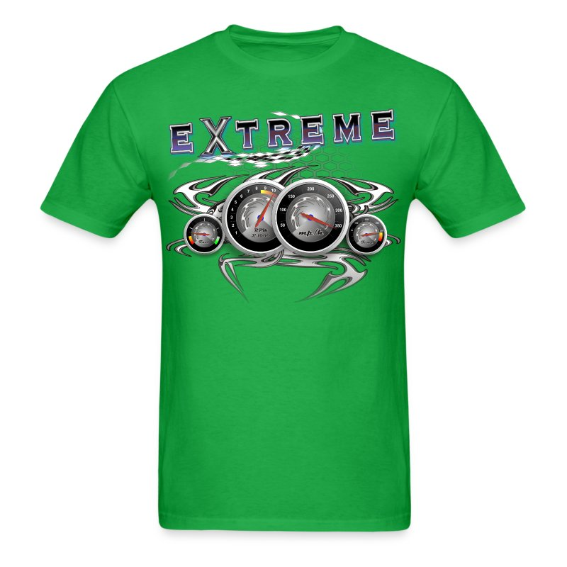 Extreme looking Dashboard - Men's T-Shirt