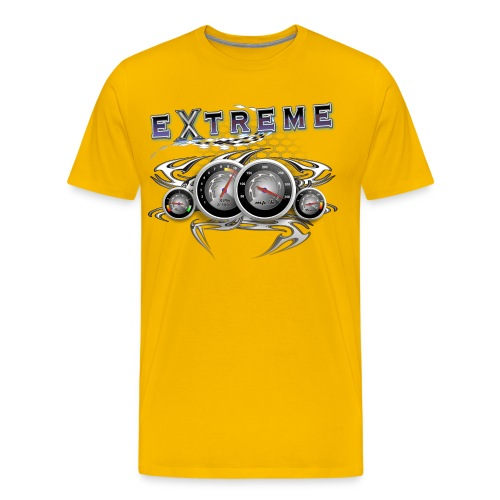 Extreme looking Dashboard - Men's Premium T-Shirt