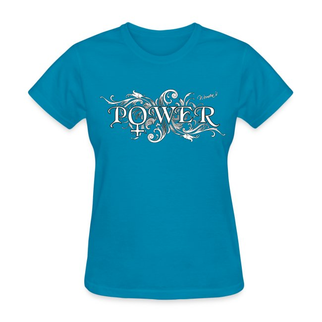 Noted Shirts Women Power Symbol Womens T Shirt