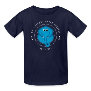An Elephant Never Forgets - Kids' T-Shirt