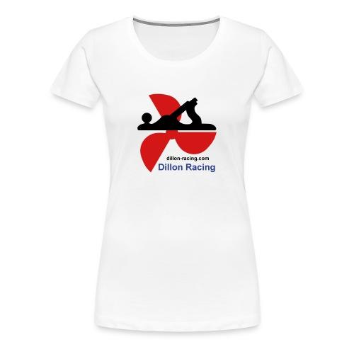 Dillon Racing Logo Lady's Tee - Women's Premium T-Shirt