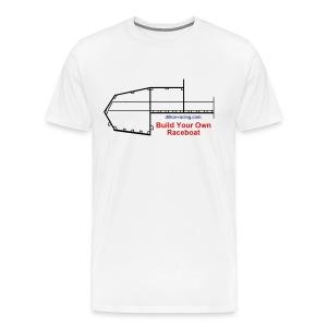 Build Your Own Raceboat Tee - Men's Premium T-Shirt