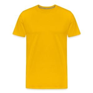 Yellow / T Shirt  - Men's Premium T-Shirt