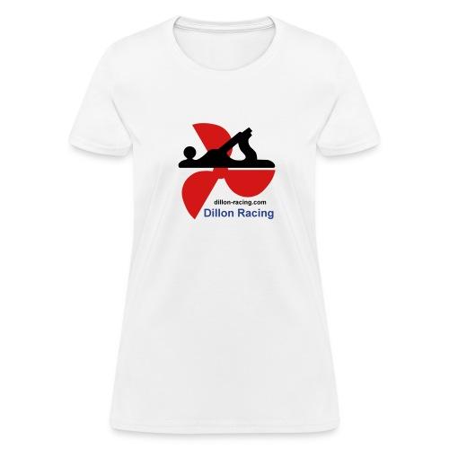Dillon Racing Logo Lady's Tee - Women's T-Shirt