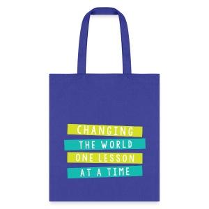 Change the World Tote - Tote Bag