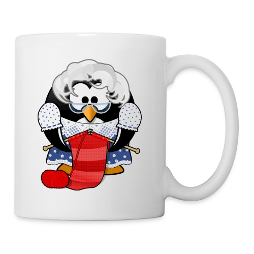 Grandma Penguin - Coffee Cup - Coffee/Tea Mug