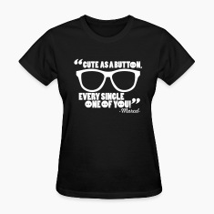 CUTE AS A BUTTON Women's T-Shirts