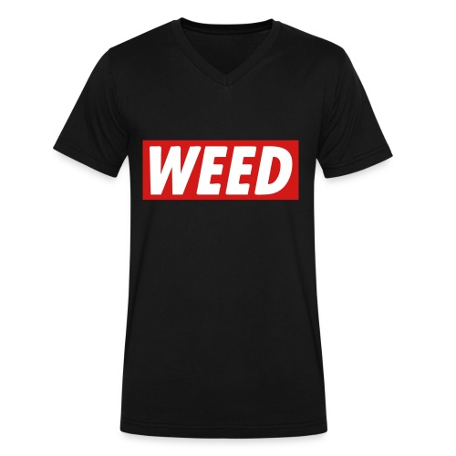 WEED - Men's V-Neck T-Shirt by Canvas
