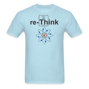 re-Think Nuclear m - Men's T-Shirt