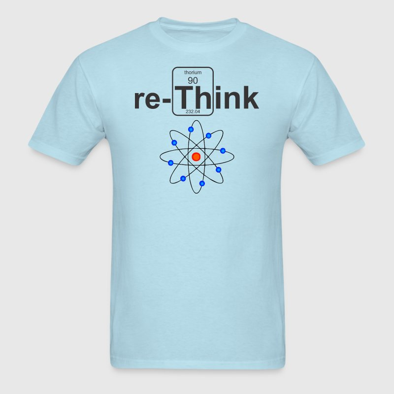 re-Think Nuclear - Men's T-Shirt